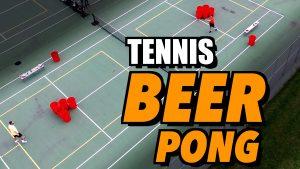 Beerpong tennis @ de Bongerd (blue courts) | Wageningen | Gelderland | Netherlands