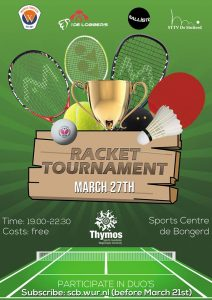 Thymos presents: rackettournament