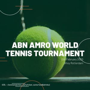 ABN AMRO WTT 2020 (Rotterdam) @ Ahoy  | Rotterdam | Zuid-Holland | Netherlands